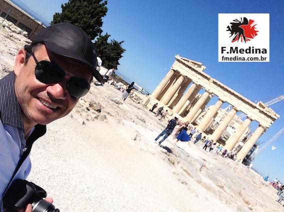Imagem para Mundo de Chico - Chico na Acropole - Atenas - Grecia
